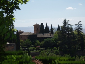 The Alhambra, not downtown Montefrio!