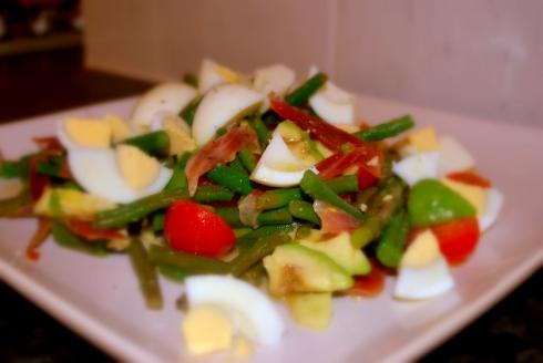 Bean & asparagus salad (1)