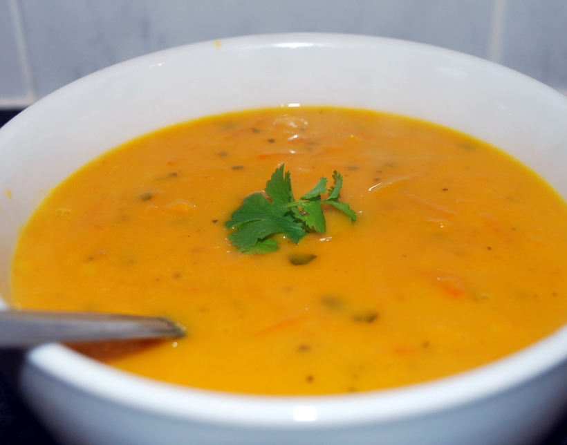 Spiced Carrot Soup (2)