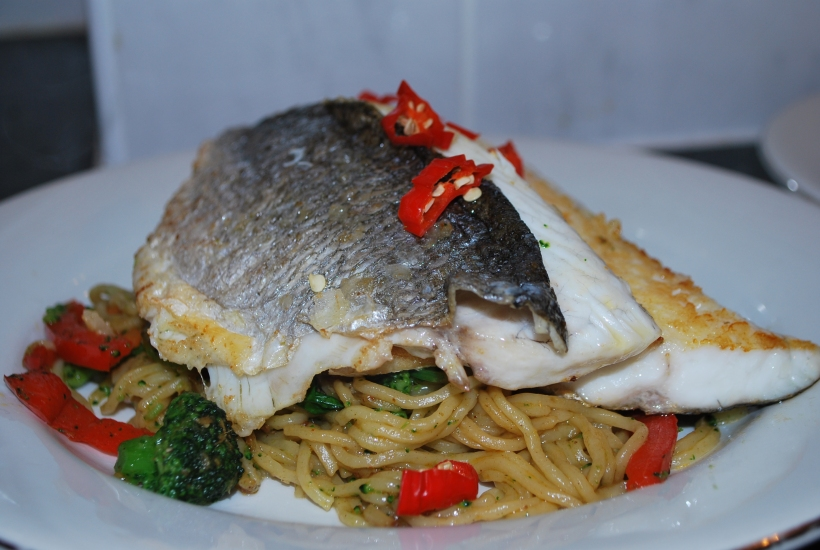 Sea Bream & Asian Noodles (1)