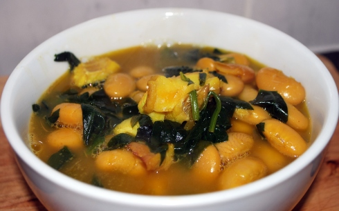 Smoked  Cod & Butterbean Stew (1)