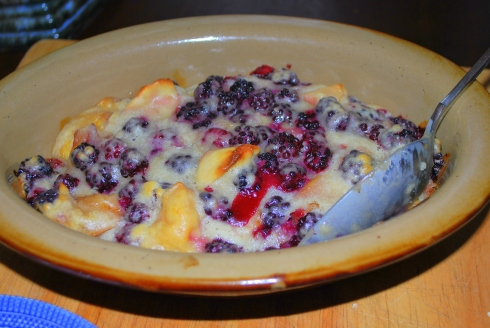 Blackberry & Apple Pudding (3)