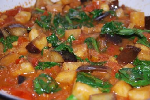 Tamarind Spiced Abergine (4)