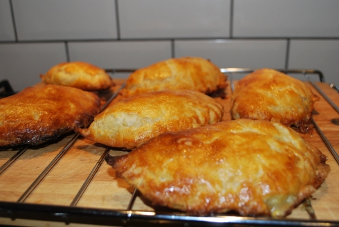 Ham Cheese & Mustard Pasties (5)