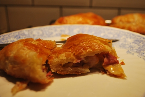 Ham Cheese & Mustard Pasties (8)