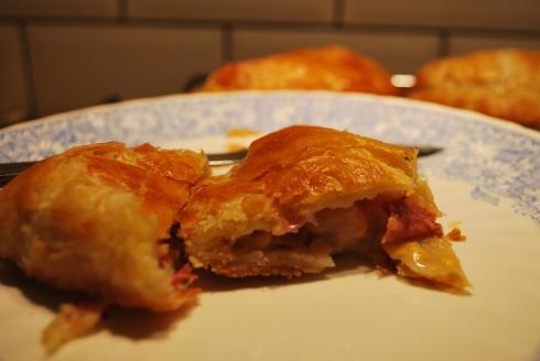 Ham Cheese & Mustard Pasties (8)