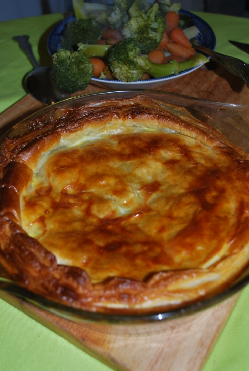 Steak and Mushroom Pie (3)