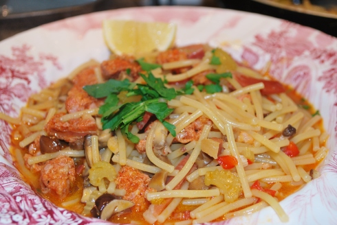 Fideua de Chorizo (5)