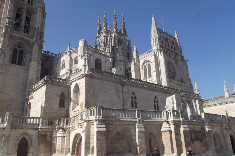 Burgos Cathedral By Day