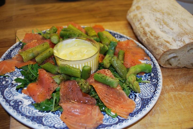 Smoked Salmon Salad (1)