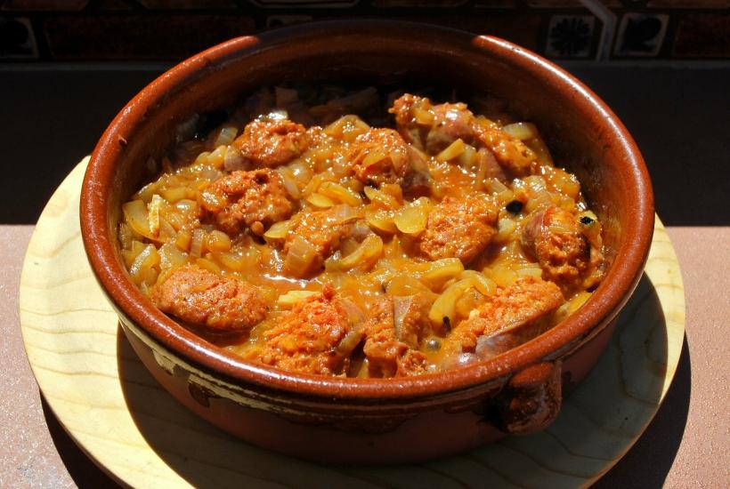 Chorizo con Cebolla (5)