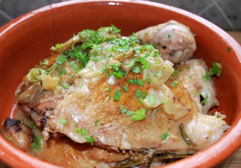 Pollo al Ajillo (1)