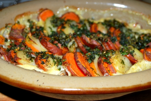 Sweet Potato Gratin (3)