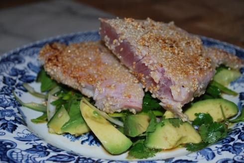 Sesame Crusted Tuna 001