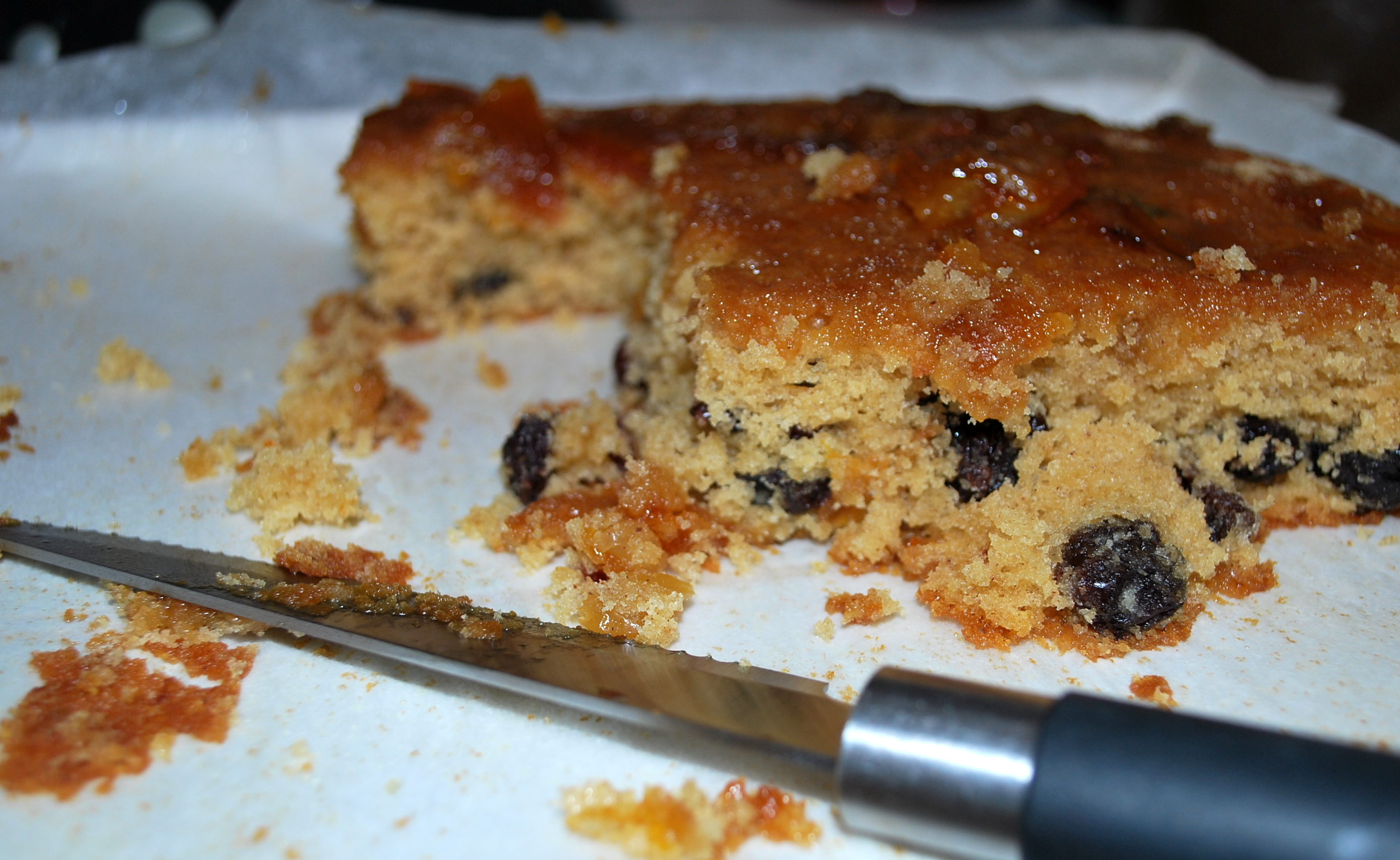 Sticky Citrus and Marmalade Tray Bake – Chica Andaluza