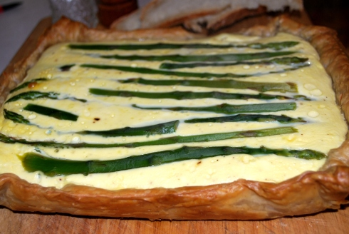 Asparagus & Sour Cream Tart (4)
