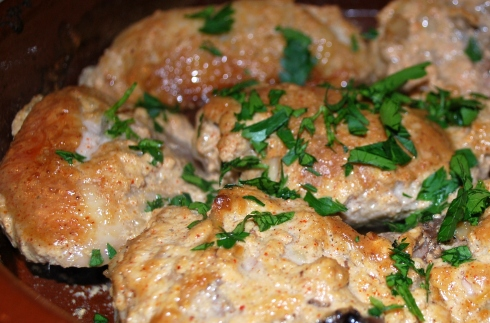 Chicken with Pomegranate Molasses (4)